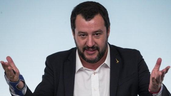 """Salvini sul bambino che ha colpito la maestra: """"Qualche no e qualche ceffone ogni tanto farebbero bene"""""""