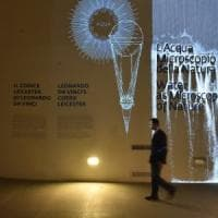 Il Codice Leicester agli Uffizi:  viaggio hi tech sul mondo di Leonardo
