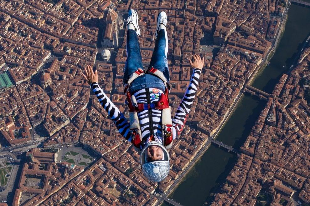 In volo sui cieli di Firenze