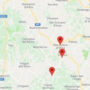 Terremoto, decine di scosse a Castiglione d'Orcia: la più forte di magnitudo 2.4, scuole chiuse