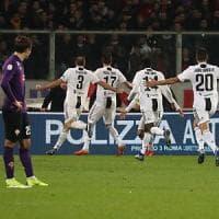 Tre a zero senza appello, la Juventus dilaga al Franchi contro la Fiorentina
