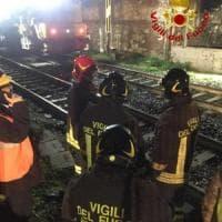 Firenze, treno merci urta una piattaforma in galleria: tre operai feriti