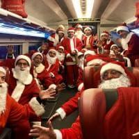 """La Compagnia di Babbo Natale """"invade"""" il treno Italo: raccolta fondi per i bimbi del Meyer"""
