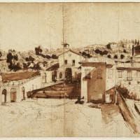 Firenze, agli Uffizi il disegno preparatorio di un'opera di Gaspare van Wittel