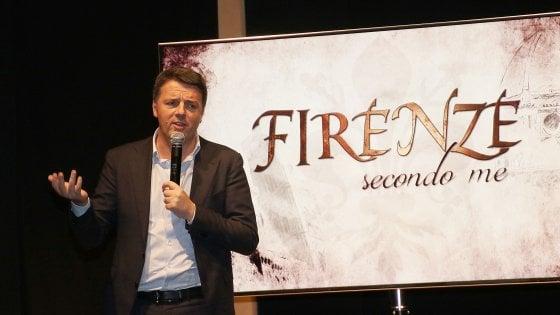 Renzi presenta il documentario su Firenze: