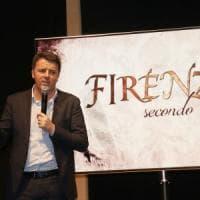 """Renzi presenta il documentario su Firenze: """"Parlo di bellezza, non di congresso e..."""