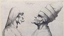 A Vinci Leonardo disegnato da Hollar  foto