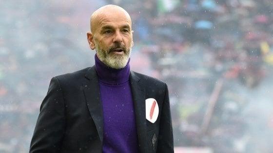 """Fiorentina, Pioli: """"Non vincere da troppo tempo inizia a pesare, Simeone si è sbloccato"""""""
