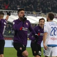 Secondo tempo, la Fiorentina chiude la partita con l'Empoli