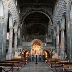 Firenze, primo dell'anno a San Miniato al Monte