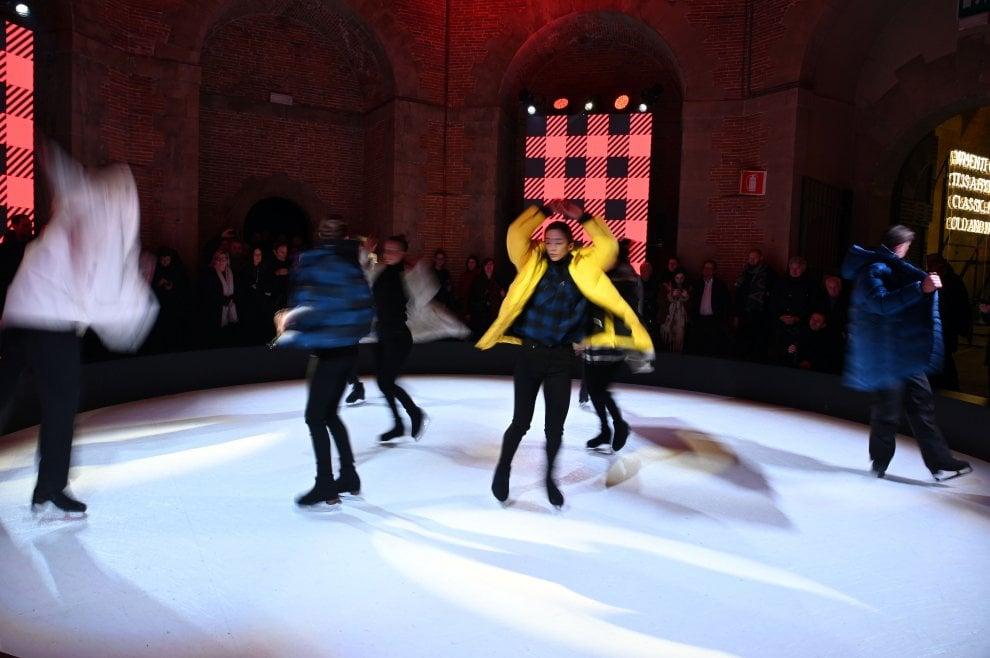 Pitti Uomo 95, da Woolrich la moda sfila sul ghiaccio