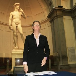 """Firenze, la direttrice dell'Accademia Hollberg: """"Fosse per me vorrei restare"""""""