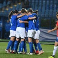 Calcio femminile, l'Italia a Empoli batte il Cile nel recupero