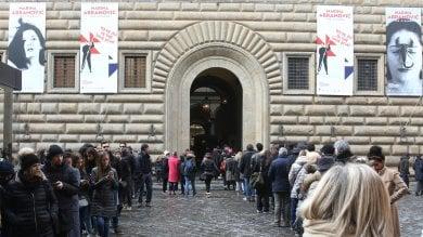 Folla record per l'ultimo giorno di The Claener di Marina Abramovic: 180 mila visitori -  foto   Foto di ENRICO RAMERINI/CGE