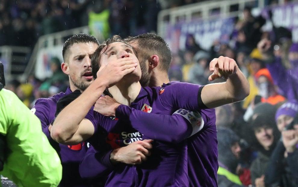 Coppa Italia, Fiorentina-Roma: il film della partita