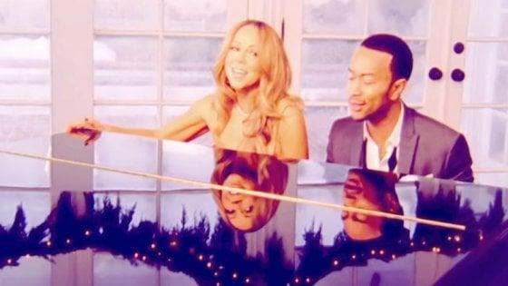 Mariah Carey e John Legend in concerto a Firenze l'8 giugno