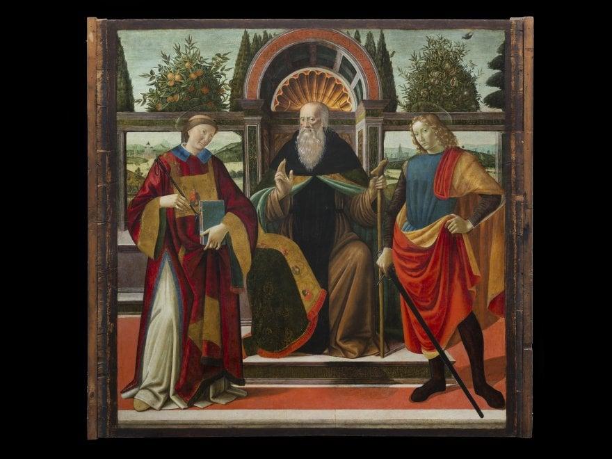 Firenze, torna nella basilica di San Lorenzo una tavola del '400