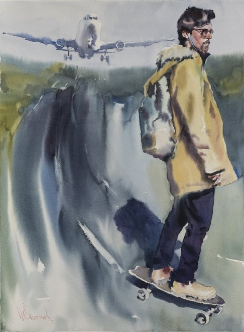 La vita ad acquerello di Esionov in mostra a Firenze