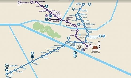 Firenze, linea 2 della tramvia: tutto pronto per l'inaugurazione