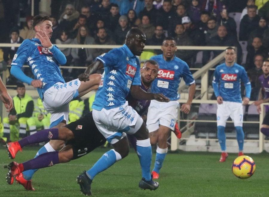Fiorentina-Napoli, il film della partita