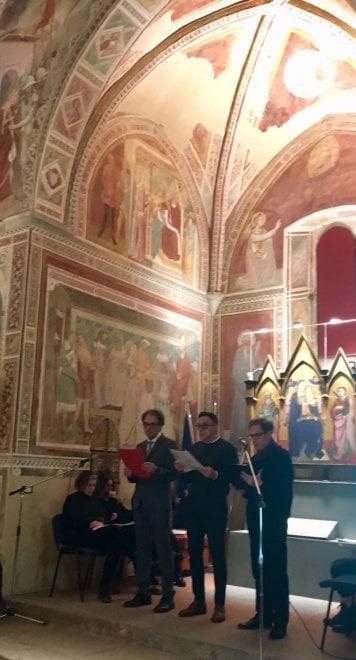 Bagno a Ripoli, Dante letto dagli studenti del Gobetti