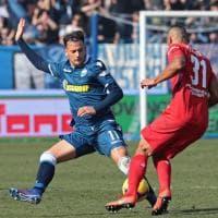La Fiorentina contro la Spal, prima si spaventa poi vince contro