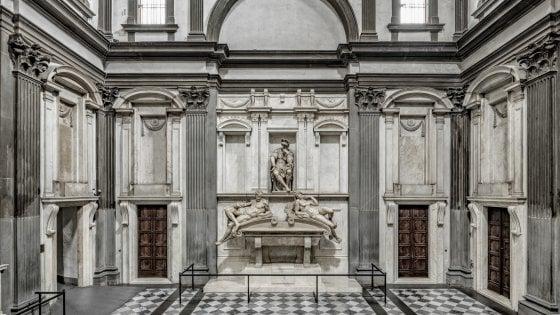 Firenze torna a risplendere la sagrestia nuova di michelangelo