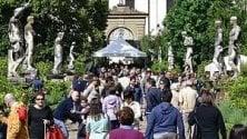Firenze, ai giardini di Palazzo Corsini torna