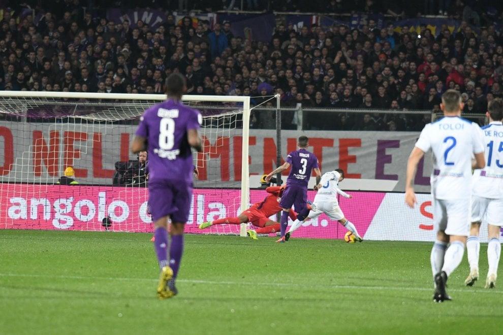 Fiorentina-Atalanta, il primo tempo