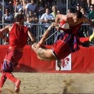 Il Calcio storico in trasferta sul Plan de Corones