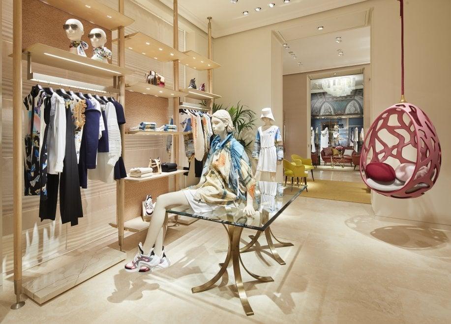 Firenze, apre il nuovo negozio-galleria di Louis Vuitton