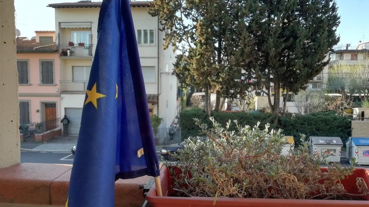 La bandiera dell'Europa sui balconi: Firenze accoglie l'invito di ...