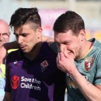 Fiorentina-Torino 1-1, per i viola l'obiettivo Europa si allontana