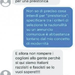 """Italiana con mamma ugandese, non le affittano casa: """"Siamo razzisti e fascisti. Viva l'Italia"""""""