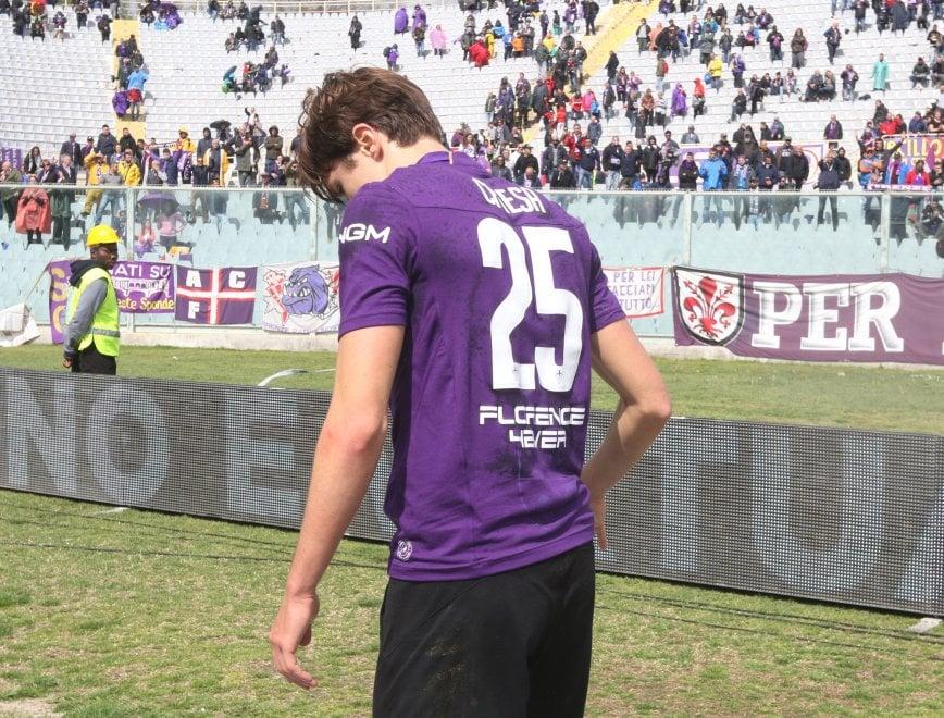 Disastro Fiorentina, sconfitta in casa col Frosinone, esce tra i fischi
