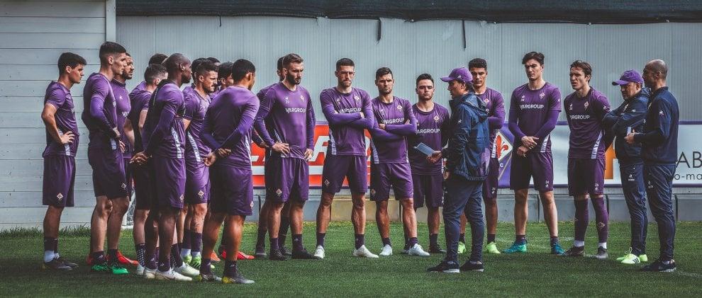 Fiorentina, Montella dirige il primo allenamento dei viola
