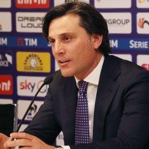 """Fiorentina, Montella: """"La squadra ha voglia di reagire, contagiamo tutti col nostro entusiasmo"""""""