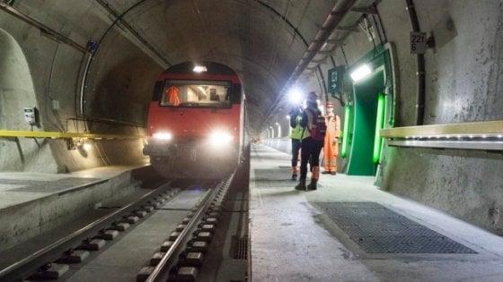 Mugello, simulata un'emergenza ferroviaria in una galleria tra Firenze e Bologna