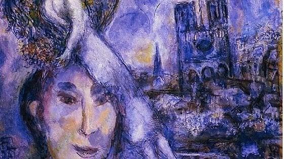 Firenze, a Palazzo Pitti esposto autoritratto di Chagall con la cattedrale di Notre-Dame