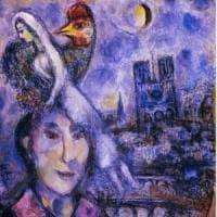 Firenze, a Palazzo Pitti esposto autoritratto di Chagall con la cattedrale
