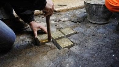 Nelle strade di Firenze 50 pietre d'inciampo  per ricordare i deportati nei lager nazisti