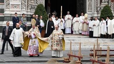 Pasqua, a Firenze l'Infinito di Leopardi nell'omelia del cardinale   foto