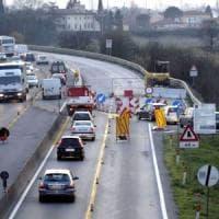 Fi-Pi-Li, per mesi superstrada da lumache: su 14 viadotti limiti a 60 km