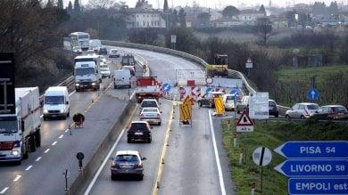 Fi-Pi-Li, per mesi superstrada da lumache: su 14 viadotti limiti a 60 km all'ora