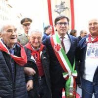 25 aprile, folla alle celebrazioni a Firenze, Nardella: