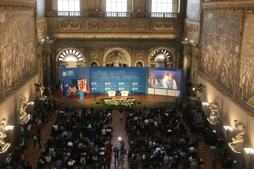 """L'Europa a Firenze: a """"State of the Union"""" c'è anche il premier Conte"""