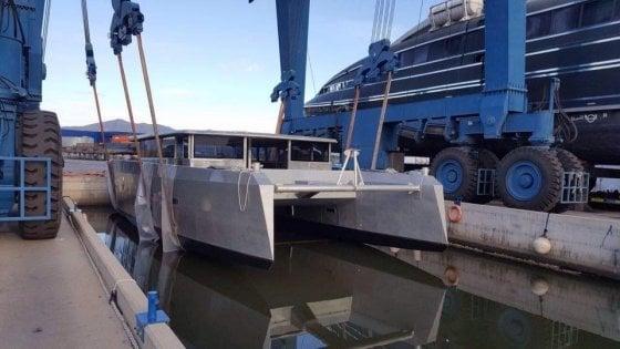 E' viareggino Elianto, il primo catamarano senza barriere architettoniche