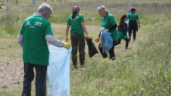 """""""Liberi dai rifiuti"""" arriva a Firenze, tutti a pulire il parco dell'Albereta"""