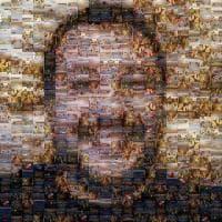 Il liceo artistico di Pisa ritrae Salvini con immagini di naufragi
