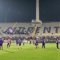 Fiorentina, allenamento a porte aperte prima della sfida salvezza contro